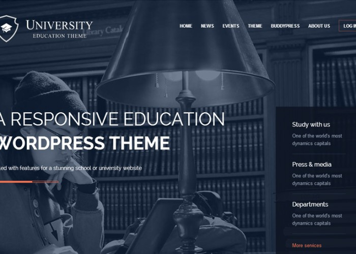 University – Premium Responsive WordPress Schools and Colleges Theme