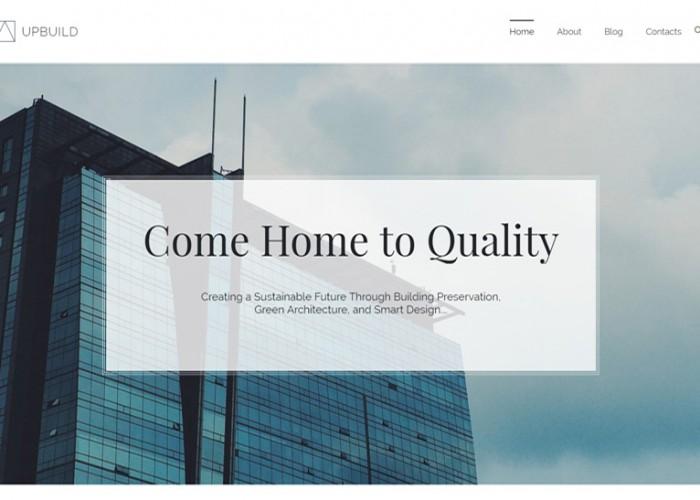 Upbuild – Premium Responsive Architecture Firm WordPress Theme
