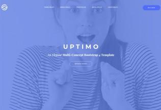 Uptimo – Premium Responsive Multipurpose Bootstrap 4 HTML5 Template