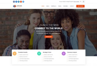 Uxima – Premium Responsive Multipurpose Business Drupal 8.6 Theme