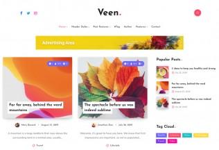 Veen – Premium Responsive Minimal Blog WordPress Theme