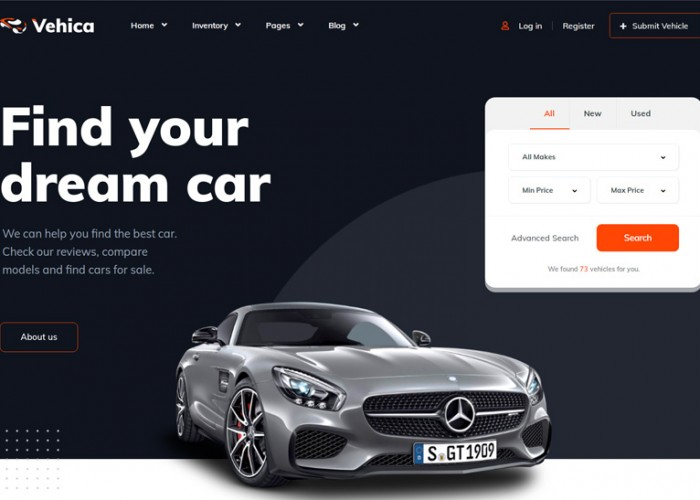 Vehica – Premium Responsive Car Directory & Listing WordPress Theme