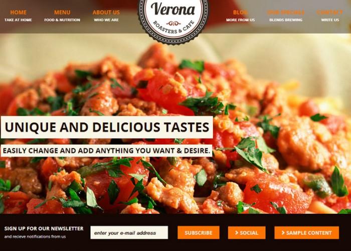 Verona – Premium Responsive WordPress Theme