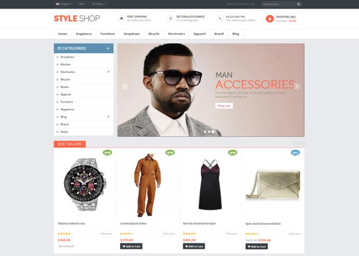 Ves Styleshop – Premium Responsive Magento Theme