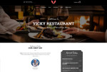 Vicky – Premium Responsive Restaurant & Cafe WordPress Theme