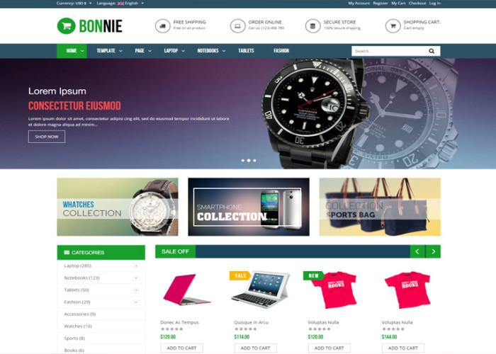 Vina Bonnie – Premium Responsive Multipurpose VirtueMart 3 Joomla Template