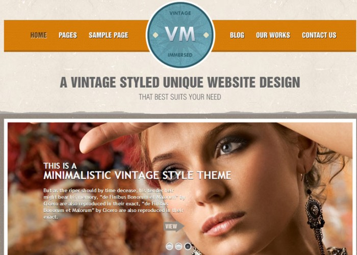 Vintage Immersed – Premium Responsive Multipurpose WordPress Theme