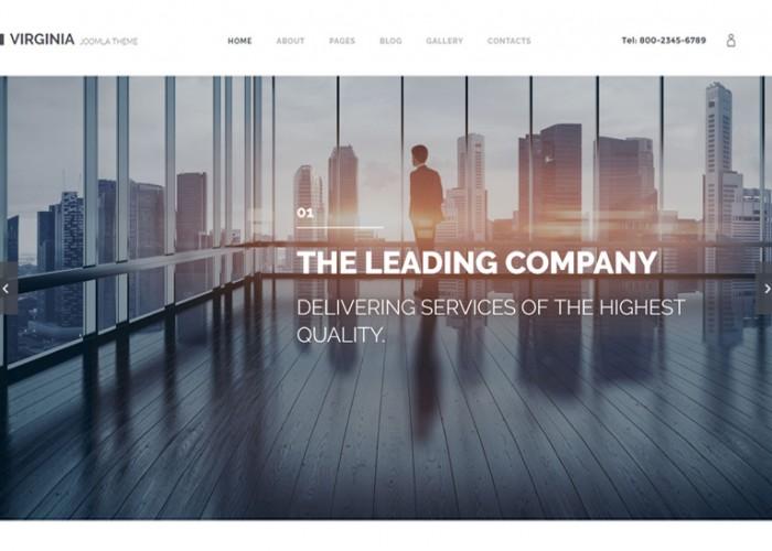 Virginia – Premium Resposnive Corporate Joomla Template