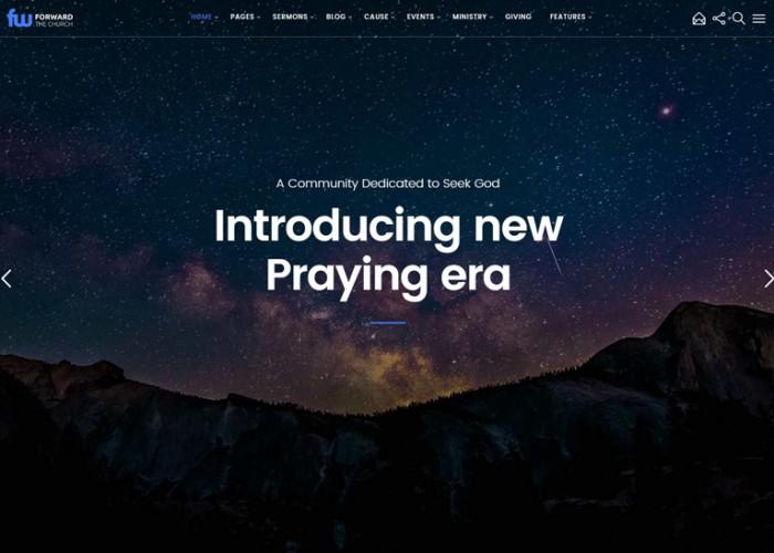 Vision – Premium Responsive Multi-Purpose Church WordPress Theme