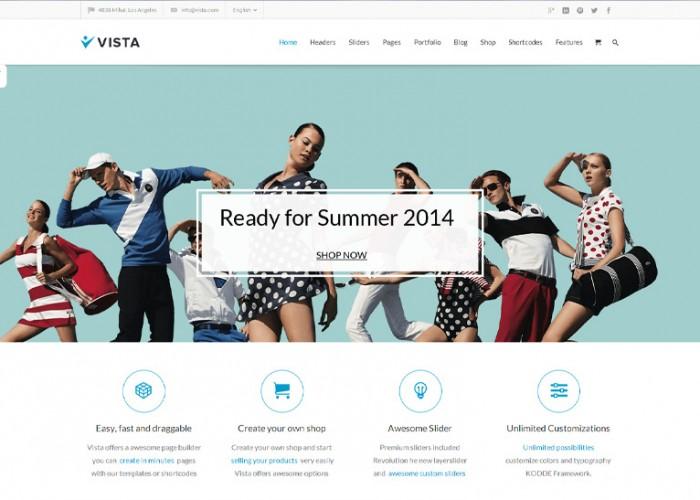 Vista – Premium Responsive Multipurpose WordPress Theme