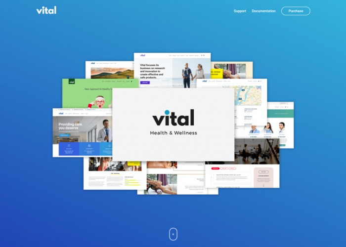 Vital – Premium Responsive Health Medical and Wellness WordPress Theme