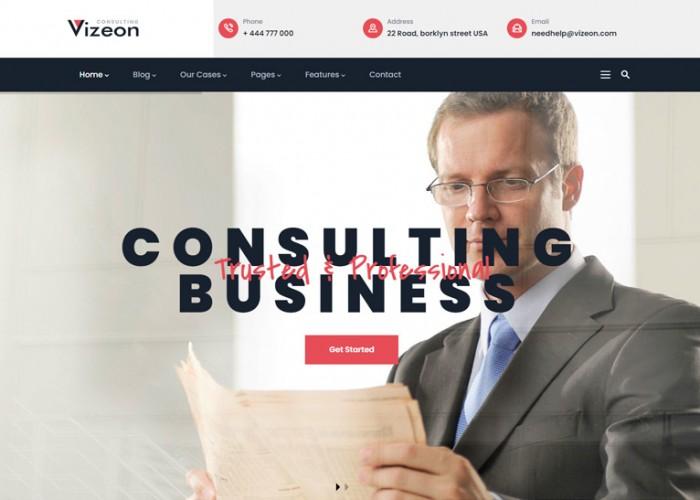 Vizeon – Premium Responsive Multipurpose Business Drupal 9 Theme