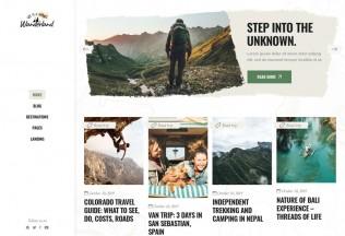 Wanderland – Premium Responsive Travel Blog WordPress Theme