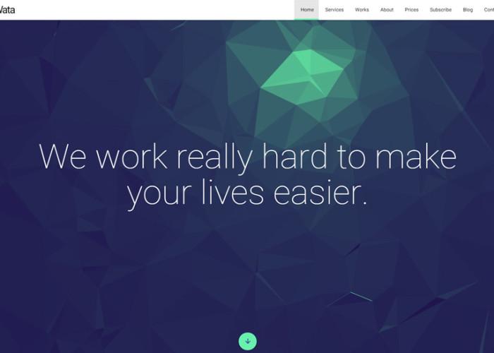 Wata – Premium Responsive Material Design Multipurpose Template