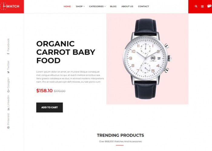 Watch – Premium Responsive Multipurpose PrestaShop Theme