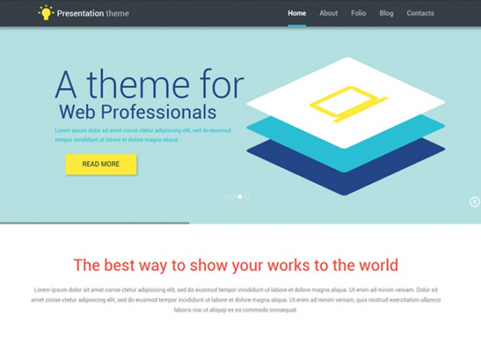 Web Presentation – Premium Responsive WordPress Theme