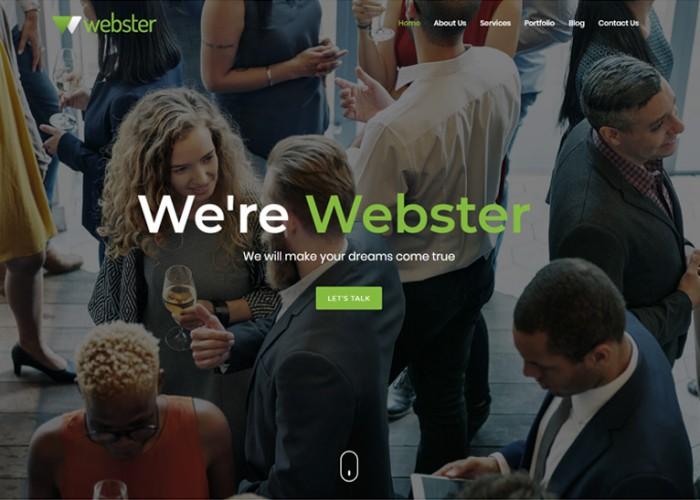 Webster – Premium Responsive Multipurpose HTML5 Template