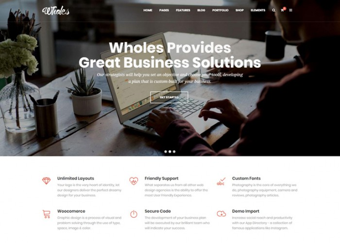 Whole – Premium Responsive Multi-Purpose Drupal 8.5.2 Theme