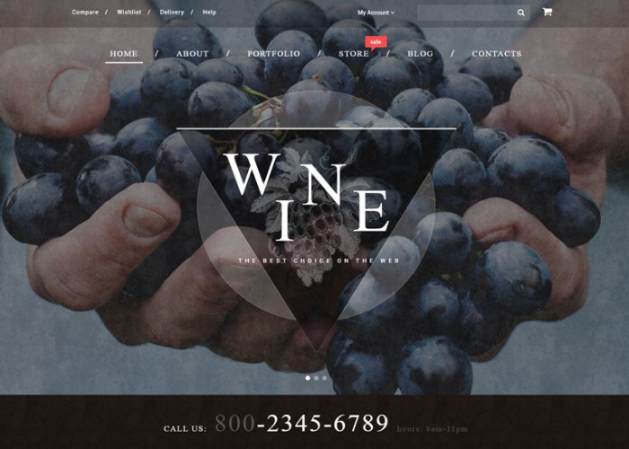 Wine – Premium Resposnive WooCommerce WordPress Theme