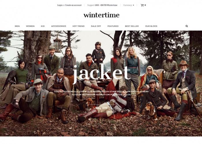 WinterTime – Premium Responsive Shopify Theme
