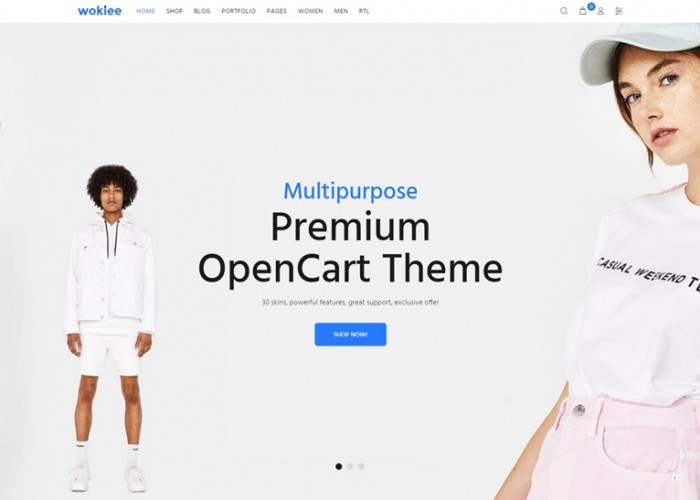 Wokiee – Premium Responsive Multipurpose OpenCart Theme