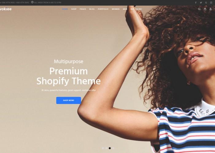 Wokiee – Premium Responsive Multipurpose Shopify Theme