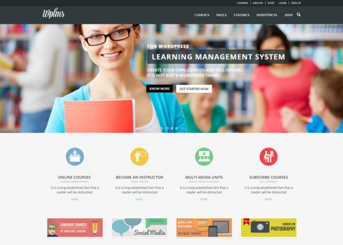 WPLMS – Premium Responsive Learning Management System WordPress Theme