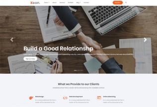 Xeon – Premium Responsive Angular 9 Business HTML5 Template