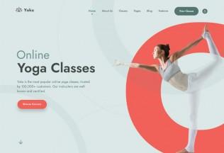 Yoku – Premium Responsive Yoga Studio WordPress Theme