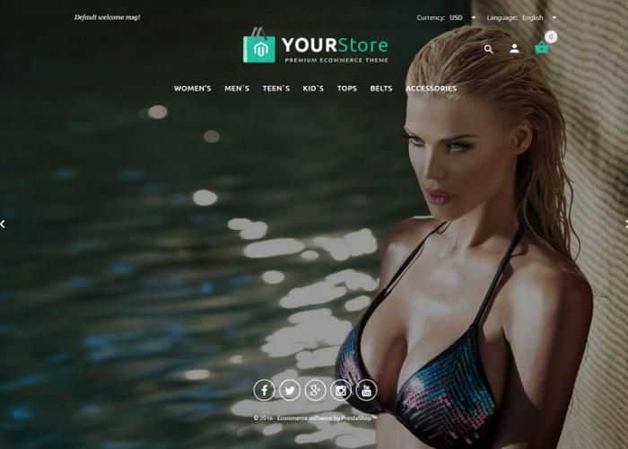 YourStore – Premium Responsive PrestaShop Theme