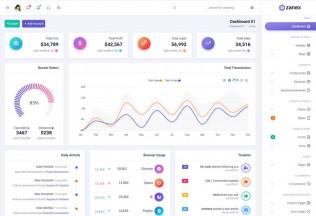 Zanex – Premium Responsive Bootstrap 5 Dashboard HTML5 Template