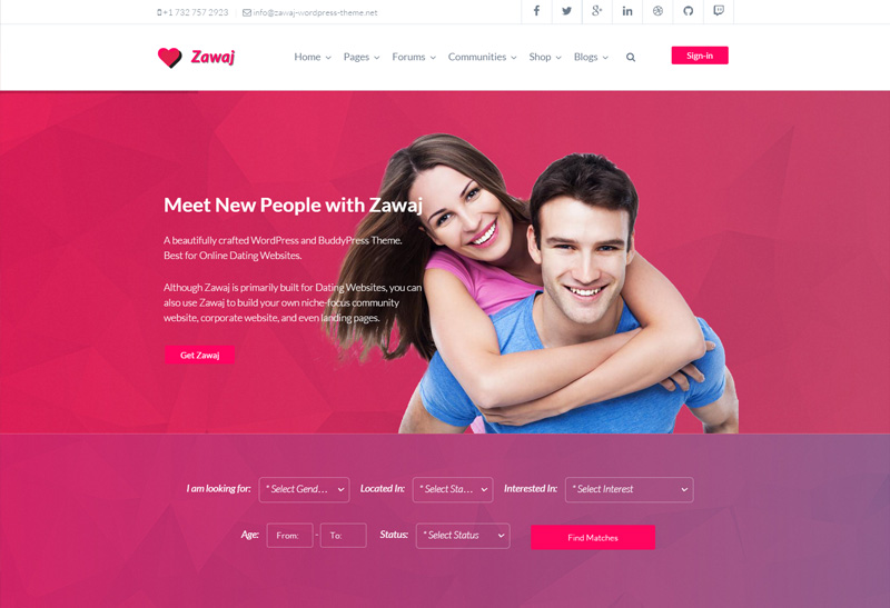 Drupal dating site templates