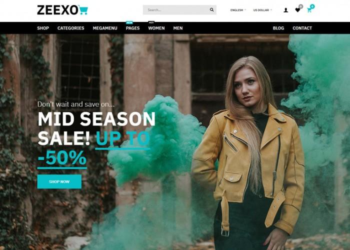 Zeexo – Premium Responsive MultiPurpose OpenCart Theme