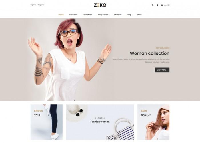 Zeko – Premium Responsive Fashion Shopping Prestashop 1.7 Theme