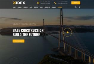 Zidex – Premium Responsive Industrial & Factory WordPress Theme