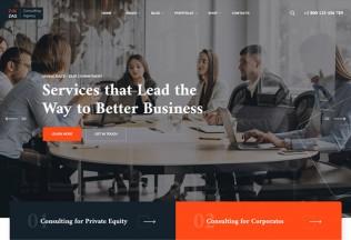 ZikZag – Premium Responsive Consulting & Agency WordPress Theme