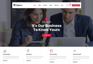Zippco – Premium Responsive Finance Consulting WordPress Theme