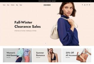 Zonex – Premium Responsive Fashion WooCommerce WordPress Theme